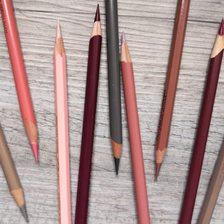 PENCILS AND PAPER I USE FOR MY COLORED PENCIL DRAWINGS
